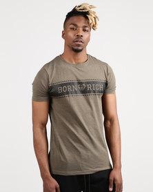 Born Rich Darmian T-Shirt Green