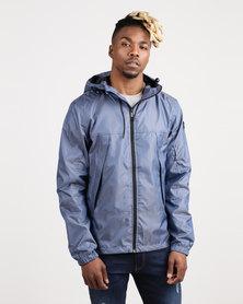 Born Rich Agustin Hooded Jacket Blue