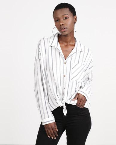 RVCA Holt Shirt Vintage White