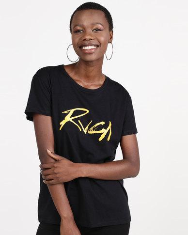 RVCA Inkwell Tee Black