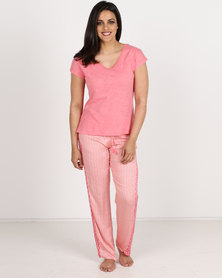 Women'secret Feminine Pyjamas Pink