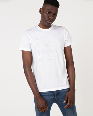 RVCA Pinner All The Way Short Sleeve Tee White