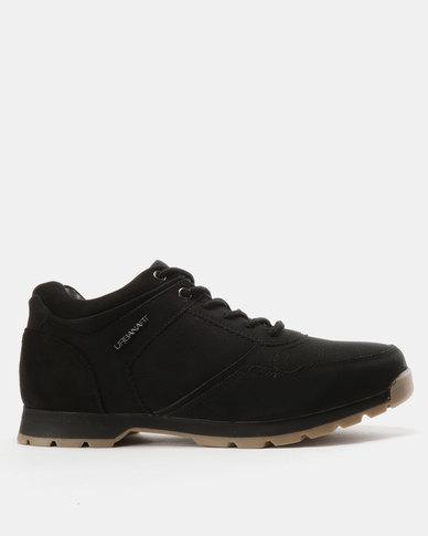 Urbanart Ski 16 Nubuck Suede Sneakers Black