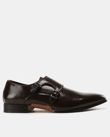 Mazerata Sir 3 Wax Dress Shoes Choc