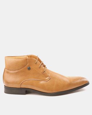 Mazerata Grazie 52 LEA Boots Tan d2892f8f77a