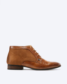 Mazerata Magio 47 Nap Sue Formal Boots Tan