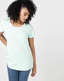 Elm Fundamental Short Sleeve Tee Mint