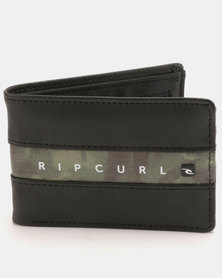 Rip Curl Blockade PU Slim Wallet Black