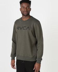 RVCA Big RVCA Crew Green