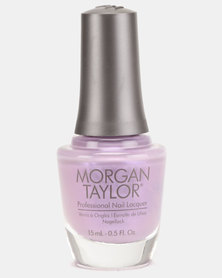 Morgan Taylor All The Queen's Bling Nail Polish Purple Pearl