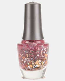 Morgan Taylor Over-The-Top Pop Nail Polish Multi Glitter Special Effect