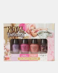 Morgan Taylor Royal Temptations Mini 4 Pack