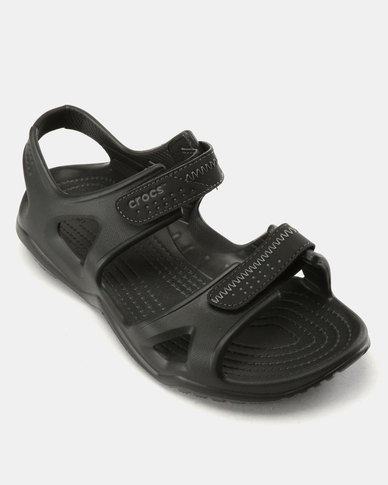 639b492291ff Crocs Swiftwater River Sandals Black
