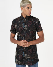 Utopia Based Floral Printed Shirt Multi