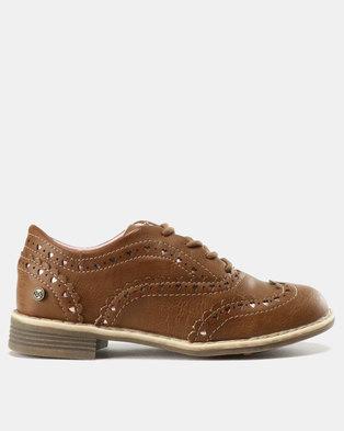 Bata Bubblegummers Girl Casual Shoes Camel 0214b9e97