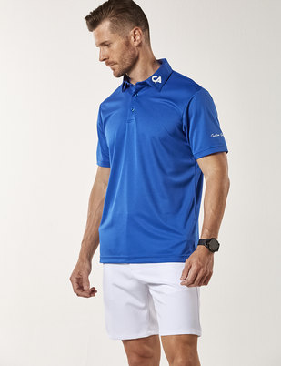 7f85d7b0 Custom Apparel Signature Golf Shirt - Royal Blue