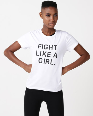 Utopia Fight Like A Girl White