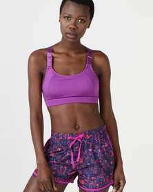 Utopia Support Bra Purple