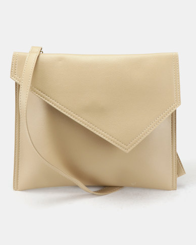 Joy Collectables Tablet Envelope Crossbody Bag Nude