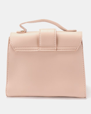 26c30a1beeee Joy Collectables Simple Crossbody Satchel Pink