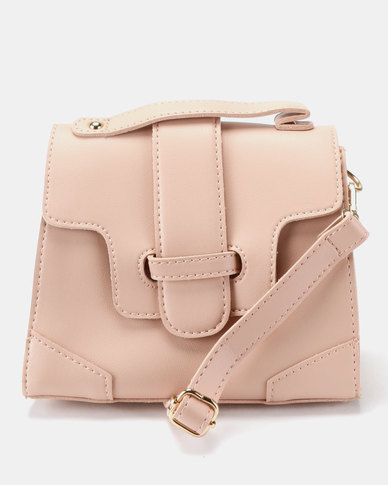 dcadecab9b21 Joy Collectables Simple Crossbody Satchel Pink