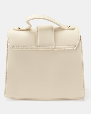 fab6825b9dfa Joy Collectables Simple CrossBody Satchel White