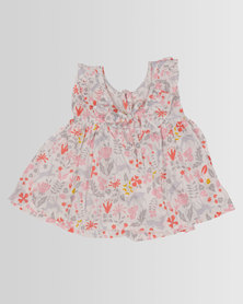 Kapas Baby Frilly Dress Whimsical