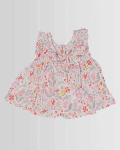 Kapas Baby Frilly Dress Whimsical