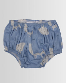 Kapas Baby Bloomers Foxes