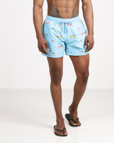 Granadilla Men's Swim Shorts Volkswagen Blue