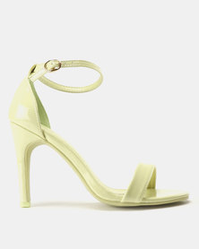 Dolce Vita Madrid Barely There Heels Green