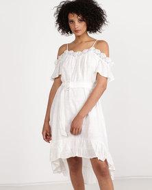 Crave Dress White