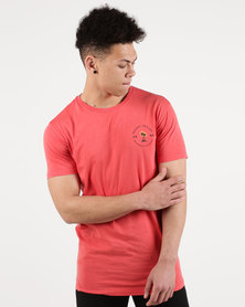 Silent Theory Tropical Illusion Tee Red