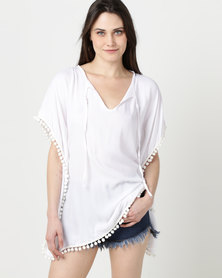 Rip Curl Ocean Days Cover Up White