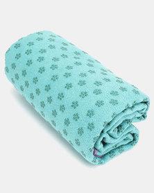 Terra Brand Outdoor Non-slip Microfiber Yoga Towel Turquoise