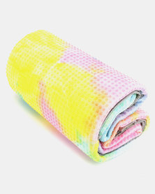 Terra Brand Outdoor Non-Slip Microfiber Yoga Towel Yellow