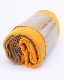 Terra Brand Outdoor Tie-Dye Non-Slip Yoga Towel Orange