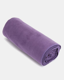 Terra Brand Outdoor Suede Yoga Towel Purple