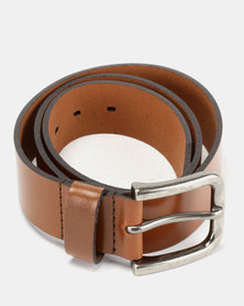Wembley Ralph Full Grain Leather Belt Tan