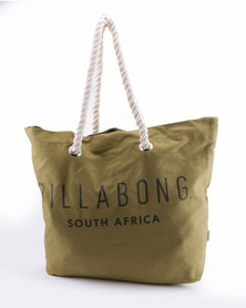 Billabong Essential Beach Bag Khaki