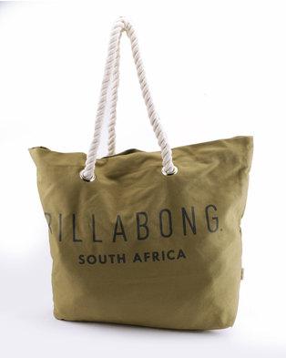 Billabong Essential Beach Bag Khaki