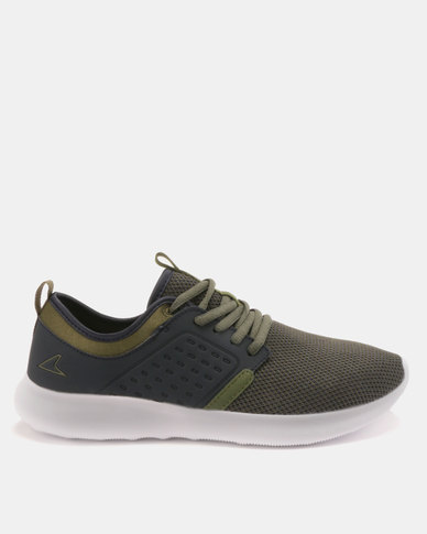 Power Performance Mens Power Jogger Shoes Olive Green