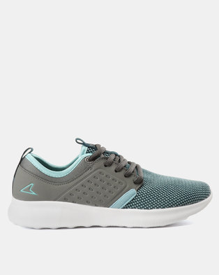 f06847ac9ce5 Power Performance Ladies Power Jogger Turquoise Grey