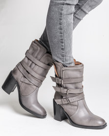 Jeffrey Campbell Oxford Grey Distressed