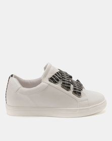 Public Desire Polka Sneakers White