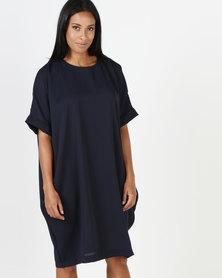 Michelle Ludek Josie Dress Navy