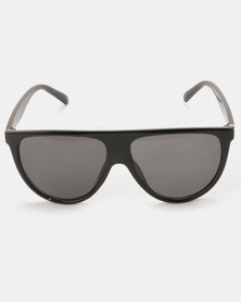 You & I Oversized Sports Luxe Sunglasses Smoke