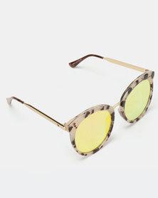 abb993dc43 Joy Collectables Extreme Cat Eye Sunglasses Yellow