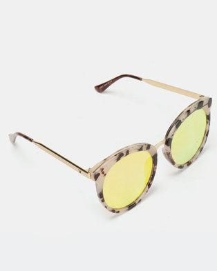 f963399f365596 Zando. Joy Collectables Large Cat Eye Sunglasses Tort