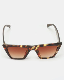 Joy Collectables Angular Sunglasses Tort